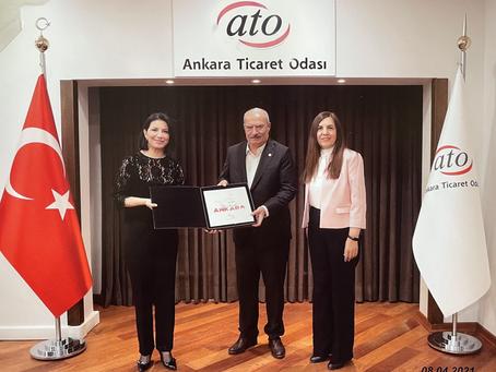 Ankara Ticaret Odası ziyareti