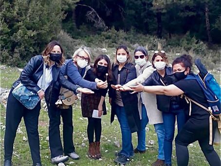 İzmir temsilcilerimiz Vişneli Köyünde...