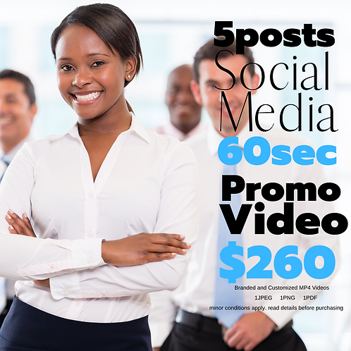 Static and Dynamic Social Media Marketing Package