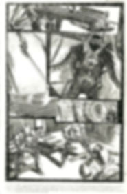Page sample for Radical Comics.