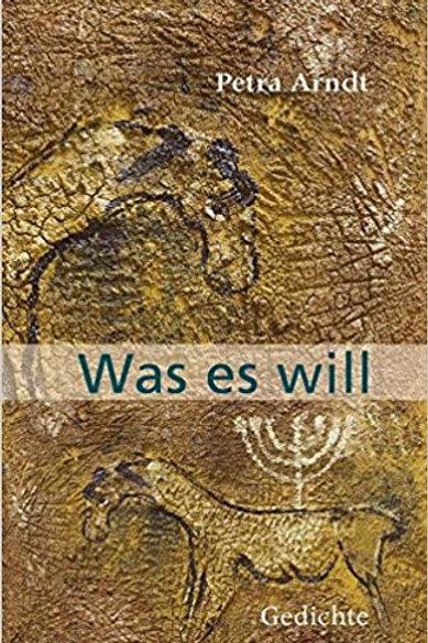 """Buch """"WAS ES WILL"""""""