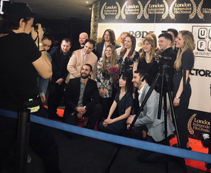 cast and crew at LIFF