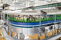Food and beverage plant with membranes