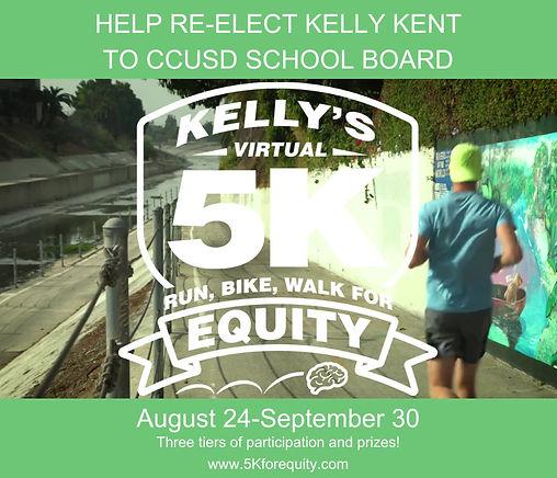 Run, Bike, Walk for Equity!