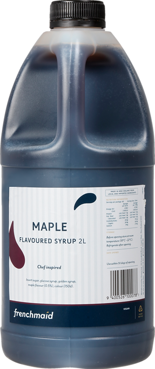Maple Flavoured Syrup (2L, PCU)