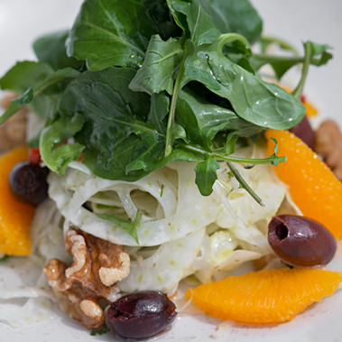 Fennel & Orange Salad with French Dressing
