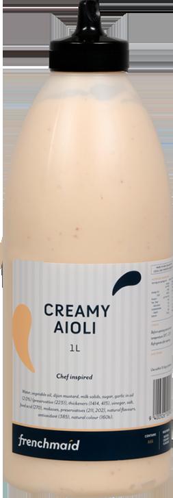 Creamy Aioli (1L, 900g)