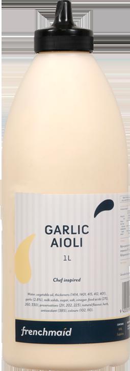 Garlic Aioli (1L,  2L,  PCU)