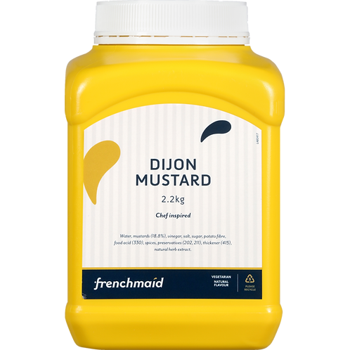 Dijon Mustard (2.2kg, 21kg)