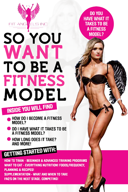 So You Want to Be a Fitness Model