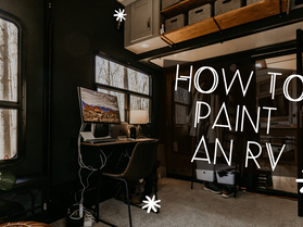 Painting an RV – Toy Hauler Renovation