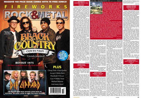 """Everybody Rock N' Roll"" Album Review In New Issue Of ""FIREWORKS"" Magazine"