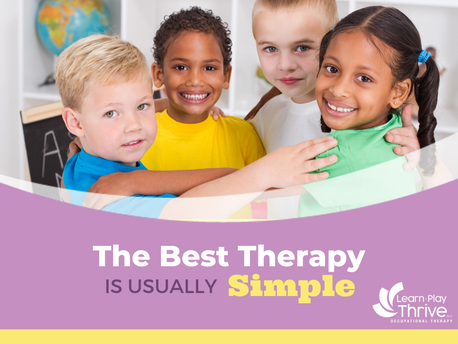 The Best Therapy is Usually Simple