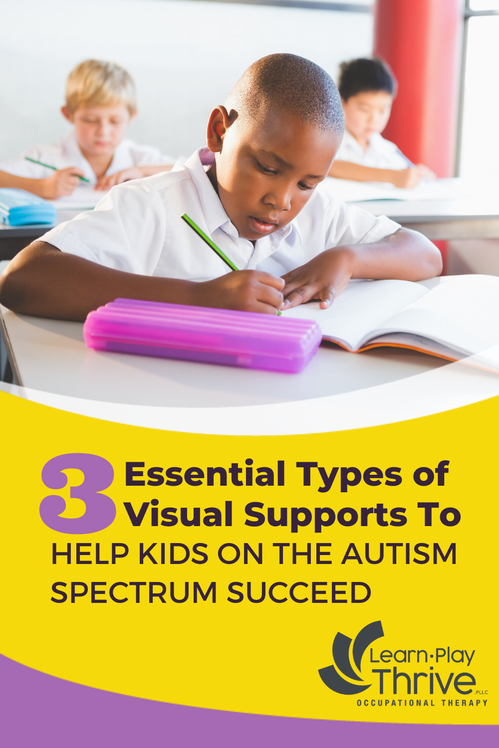 3 types of visual supports for autism