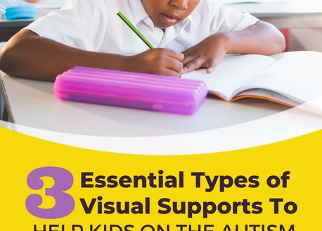3 Essential Types of Visual Supports To Help Kids On the Autism Spectrum Succeed