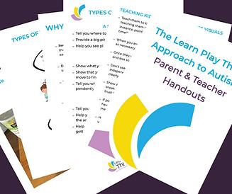 Image of parent handouts