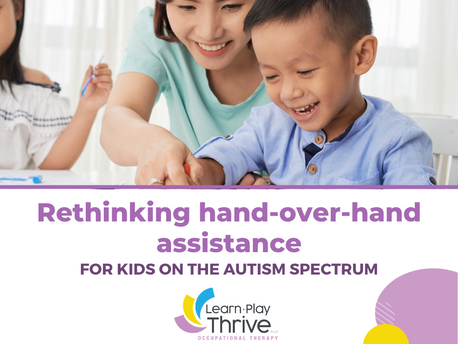 Rethinking Hand-Over-Hand Assistance for Kids On the Autism Spectrum