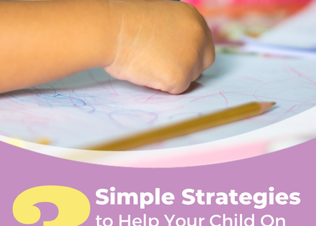 3 Simple Strategies to Help Your Child On the Autism Spectrum Learn at the Table