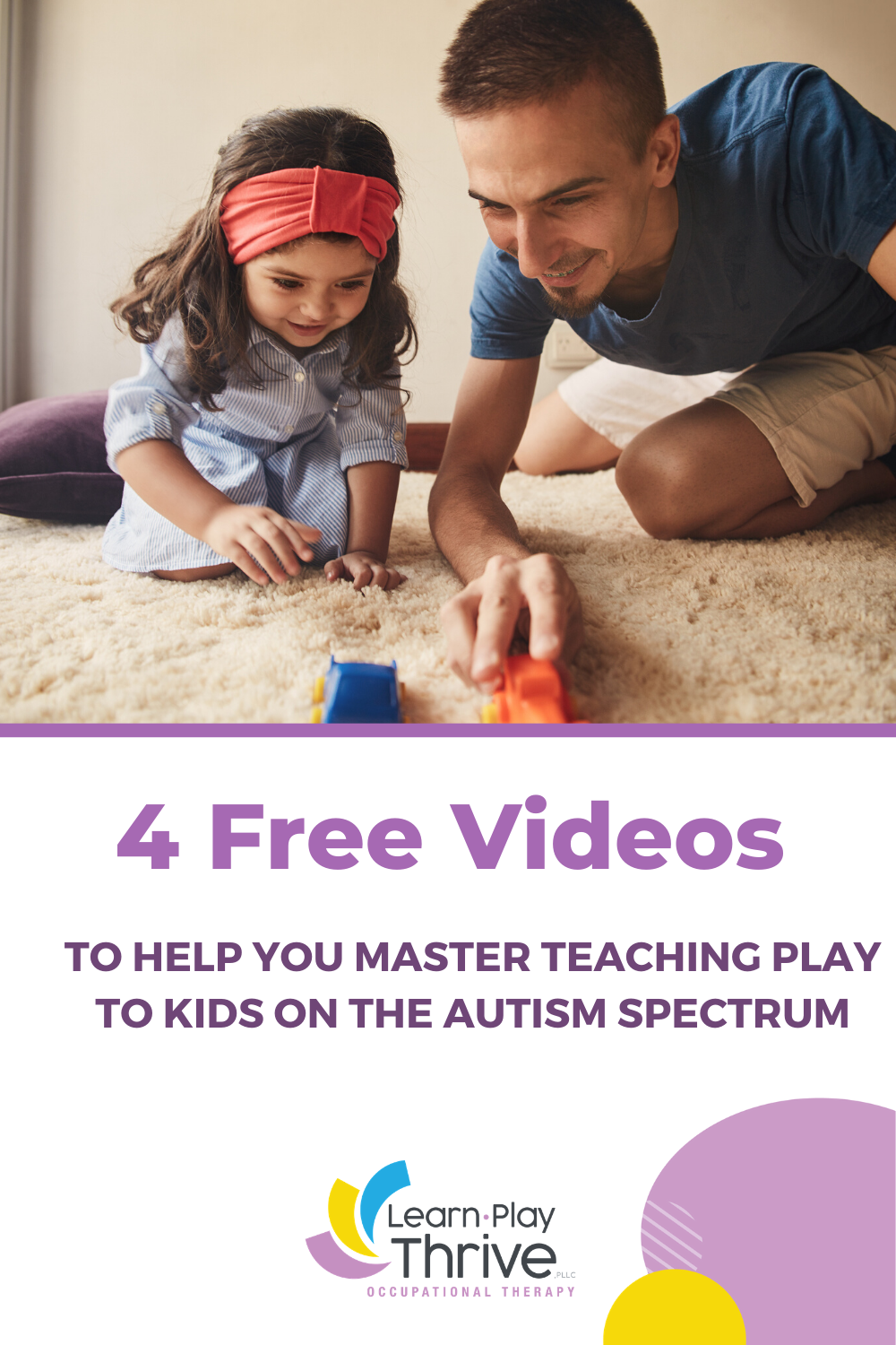 4 videos on teaching autistic kids to play
