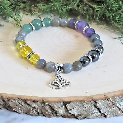 Healing Mind, Body, & Spirit Charm Bracelet