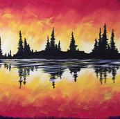 Fiery Horizon