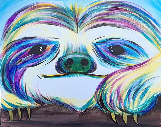 Puff & Paint Sloth 9/13