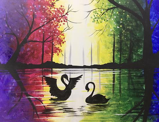 Virtual Event Swan Dance