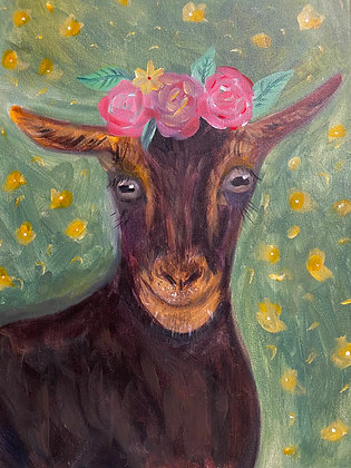 We Goat This Puff & Paint