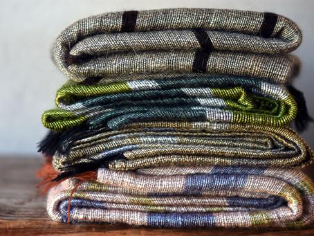 We've got some blankets for sale...at last!
