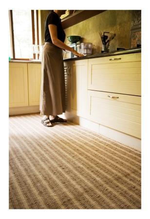 Ribbed Cotton Carpet