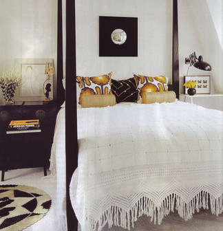Zandberg chalk flatpile carpet guest bed