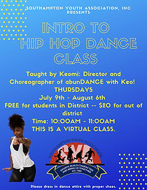 Virtual Intro to Hip Hop Dance