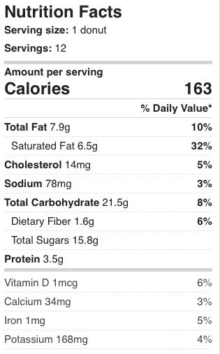 Nutrition Facts Kodiak Cakes Ginger