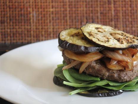 Eggplant Bun-licious Burger
