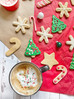 Gluten-Free cut out Christmas cookies