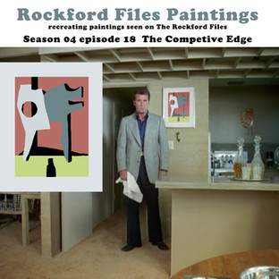 Rockford Files Paintings