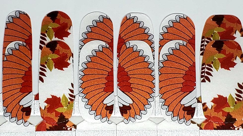 Thankful feathers