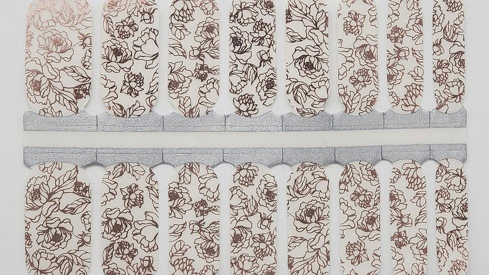 Elika- Floral Overlay Design