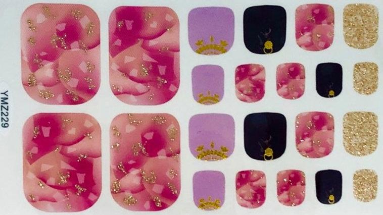 Pink Queen Toes