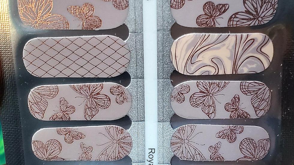 Royal wings - Nail Polish strips