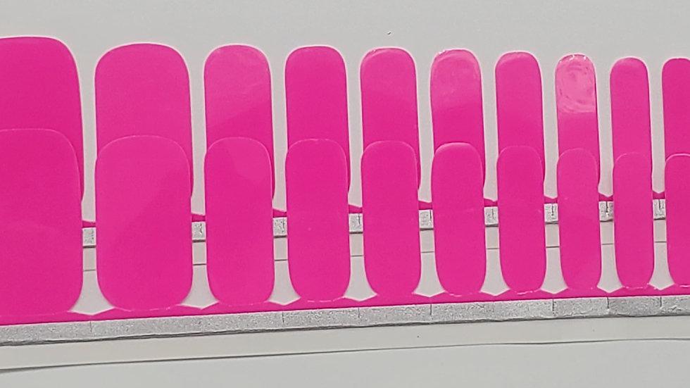 Neon Pink- Pedi Set
