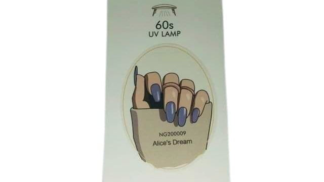 Gel Nail Wraps-Alice's dream