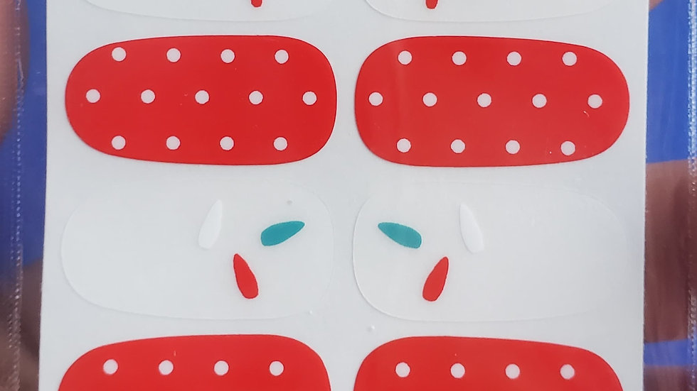 Paint drops and polkas