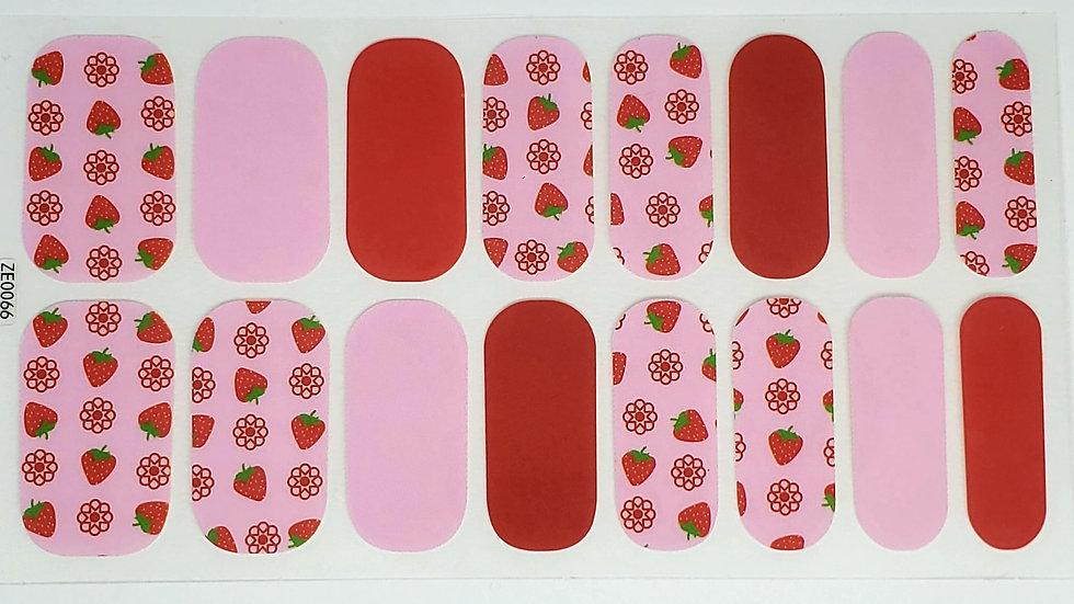 Cherries in pink