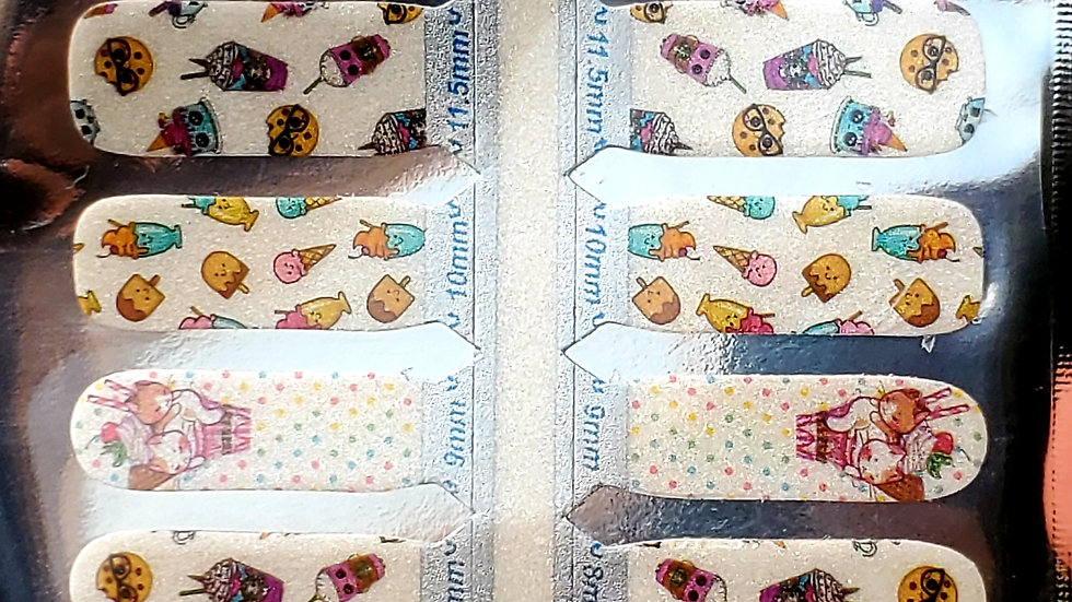 Sweet treats Nail Polish Strips
