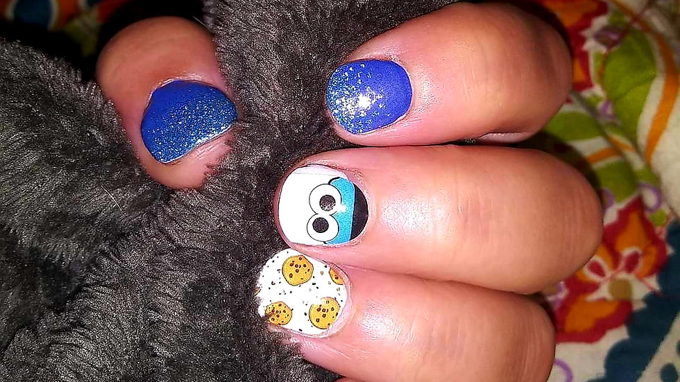 Cookie Lover - Nail Polish strips