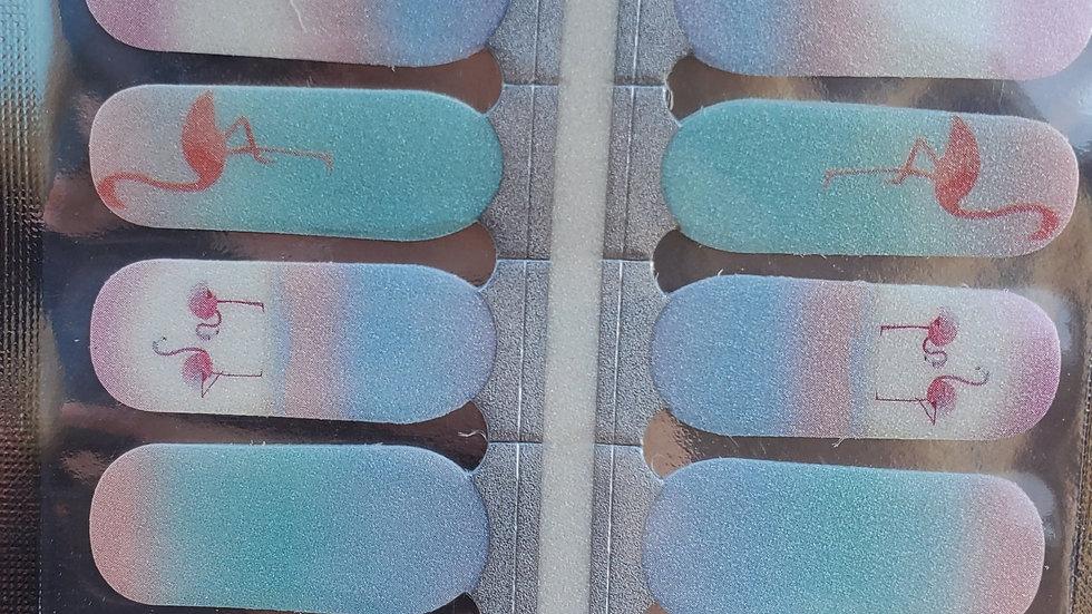 Flamingo Pastels