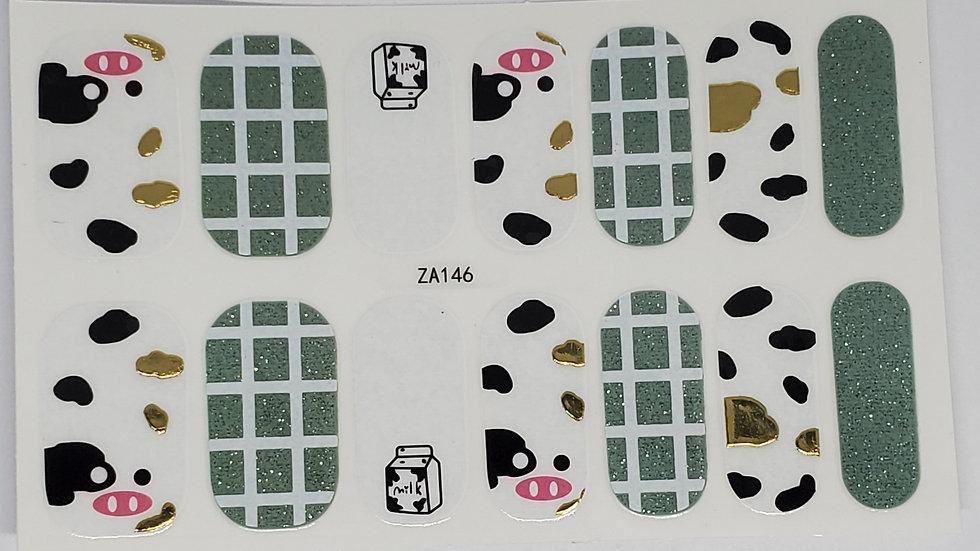 Moochas Grassias - Cow design