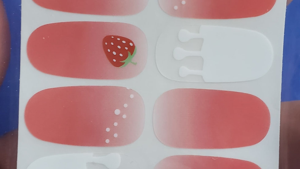 Drizzled Berries