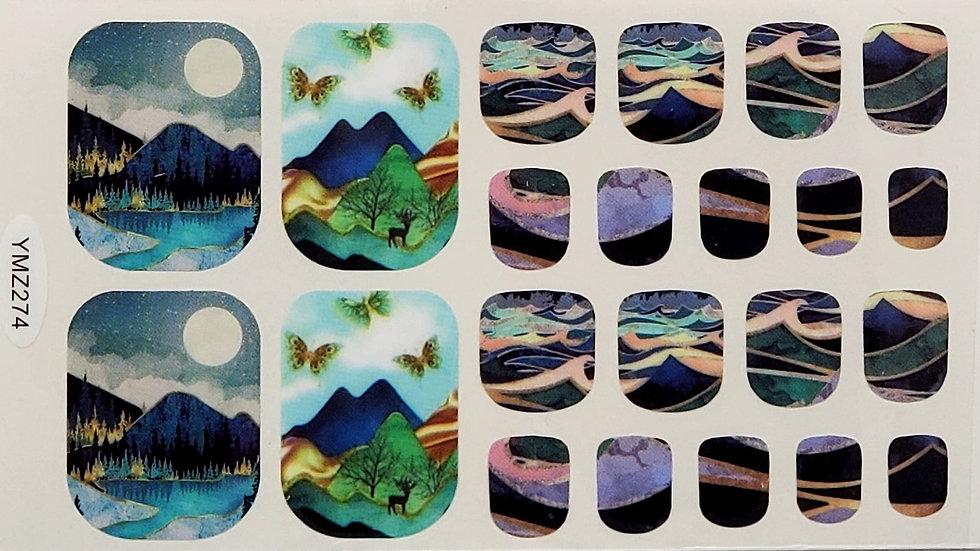 Butterfly Paradise-Pedi Set